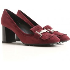 Fall - Winter 2017/18 Tod's Shoes for Women Wine Pumps Item code:427478 WJVUGTZ