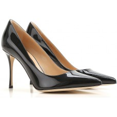 Fall - Winter 2017/18 Sergio Rossi Shoes for Women Black  Pumps Item code:419705 NPHHMUK