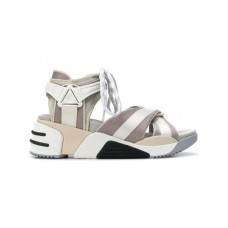 NEU Marc Jacobs Somewhere Sport Sandals 107 CREAM MULTI Polyester 100% 13143082 NHEIHAX
