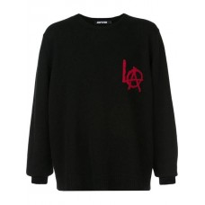 Adaptation LA Sweatshirt Black/red Cashmere 100% Men's Sweatshirts 13189803 VDORIQU