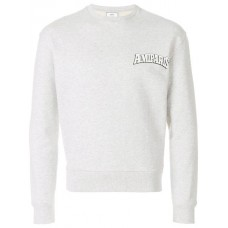 Ami Alexandre Mattiussi Ami Paris Print Sweatshirt HEATHER GREY Cotton 100% Men's Sweatshirts 12813414 HYEXOYR