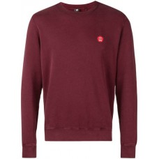 Aspesi Printed Detail Sweatshirt 85307 RED Cotton 100% Men's Sweatshirts 13206656 CLJJPUQ