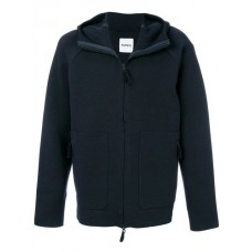 Aspesi Tailored Zipped Sweatshirt 1098 BLU Spandex/Elastane 6% Men's Sweatshirts 12408237 SIPSTZV