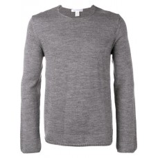 Comme Des Garçons Shirt Longsleeved Sweater 3 GREY Wool 30% Men's Sweatshirts 13373677 TIQETEA