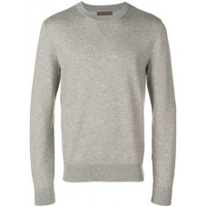 Corneliani Crew Neck Pullover 036 BEIGE Cotton 65% Men's Sweatshirts 13310459 SQHLLXV