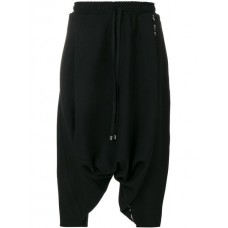 Alchemy Cropped Drawstring Trousers BLACK Polyester 30% Men's Cropped Trousers 12555646 XVWVWSY