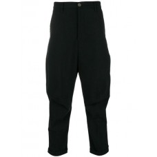 Andrea Yaaqov Cropped Tapered Trousers 09 BLACK Polyamide 20% Men's Cropped Trousers 13187110 XNMOKNO