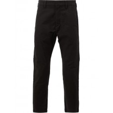 Attachment Cropped Tailored Trousers 930 BLACK Cotton 98% Men's Cropped Trousers 12779129 ONKAEVK