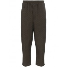 By Walid Morton Print Tapered Trousers PETIT FLEUR Cotton 100% Men's Cropped Trousers 13049868 NKZRSHJ
