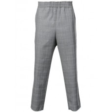 Camiel Fortgens Check Print Cropped Trousers CHECK 1 Wool 100% Men's Cropped Trousers 13353240 MEPEPVN