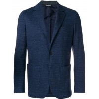 Canali Single Breasted Blazer 302 BLUE Wool 100% Men's Casual Blazers 13222853 PNXPDHK