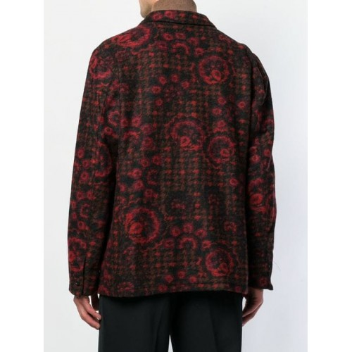 Engineered Garments Folk Printed Blazer RED/BLACK Polyester 60% Men's Casual Blazers 13417307 QPOAKWL