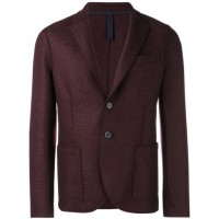 Harris Wharf London Perfectly Fitted Jacket 535 BORDEAUX Virgin Wool 100% Men's Casual Blazers 13122920 NSPKHVO