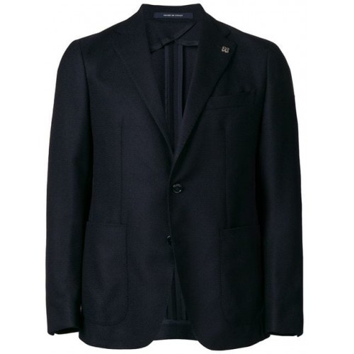 Tagliatore Tailored Button Fastened Jacket B247 Virgin Wool 100% Men's Casual Blazers 13113501 AOIDQRM