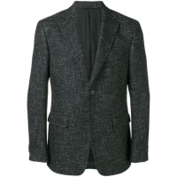 Z Zegna Tweed Blazer grey Cotton 32% Men's Casual Blazers 13309240 MYGUTOP