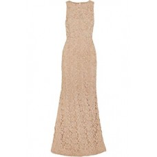 ALICE + OLIVIA Kacie beaded macramé lace gown Neutral New Products Discount 1071994537543867 oSLpVp8B