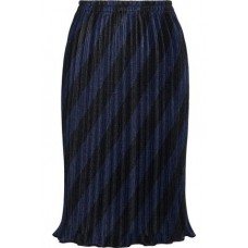 ALEXANDER WANG Pleated striped mesh skirt Multicolor New Products Discount 14693524283253012 Vol9MzvT