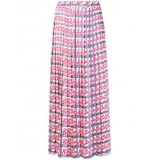 Alysi Printed Pleated Midi Skirt LAVIE Polyester 100% Women's Pleated Skirts 13156174 GGAEDKV