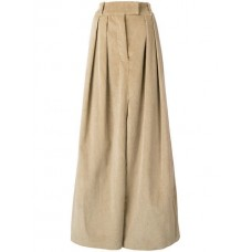 A.W.A.K.E. Corduroy Pleated Skirt SM000 CAMEL Cotton 100% Women's Pleated Skirts 13409535 ZDDYZJB
