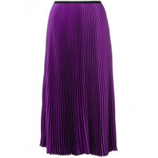 Blanca Pleated Midi Skirt VIOLA Spandex/Elastane 5% Women's Pleated Skirts 13384782 DLBTCBS
