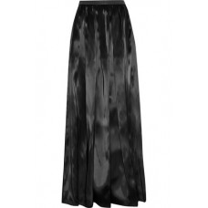 BRUNELLO CUCINELLI Pleated organza maxi skirt Black New Products Discount 4230358016448603 1QdOZ4Zh