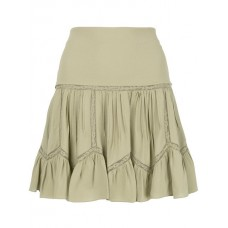 Chloé Pleated Skirt 3D6-ALOE GREEN Polyester 100% Women's Pleated Skirts 13146744 ZNIVZNZ