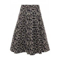 CO Pleated brocade skirt Black New Products Discount 1874378722879531 33AL0fLb