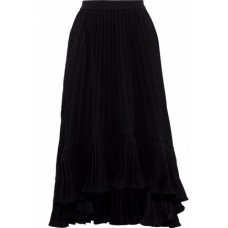 CO Pleated crepe midi skirt Black New Products Discount 1874378722889192 Sfh4isNN