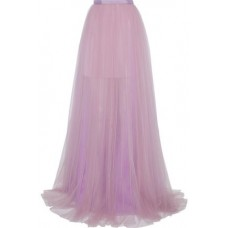 DELPOZO Pleated tulle maxi skirt Lilac New Products Discount 4146401444621104 7CI56s34