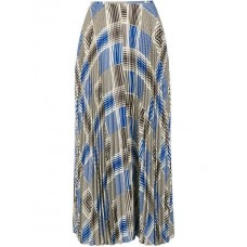 Joseph Checked Pleated Skirt 0050 MULTICOLOR Silk 100% Women's Pleated Skirts 13230731 LORBUQX