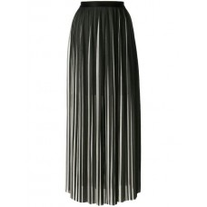 Karl Lagerfeld Pleated Maxi Skirt 998 Polyester 100% Women's Pleated Skirts 12475870 FXYHMNQ