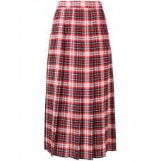 MSGM Plaid Pleated Skirt 18 Polyester 100% Women's Pleated Skirts 13066360 ZBXNYWI