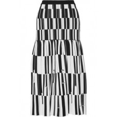 PROENZA SCHOULER Pleated jacquard-knit skirt Black New Products Discount 4772211931190881 cF9FyhVr