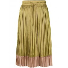 Red Valentino Pleated Midi Skirt PA4 DIGITALIS/N Polyester 100% Women's Pleated Skirts 13078788 MNAFPVD