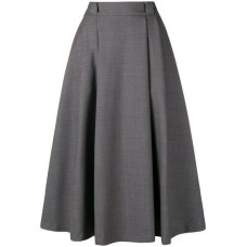 Société Anonyme Travaille Skirt grey Wool 100% Women's Pleated Skirts 13225533 ATWNJWO