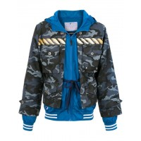 À La Garçonne New Era Covered up Jacket AZUL Polyester 100% Women's Oversized Jackets 12948792 QXXUXLZ