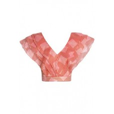ALICE + OLIVIA Cropped layered jacquard top Red 71% Polyester 29% Polyamide 4146401443460944 0nbfJG0b