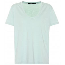 J Brand Johnny cotton T shirt Spearmint 100% pima cotton Women's Short Sleeved  P00326667 XHPNURQ