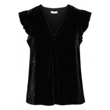 JOIE Jentri velvet top Black 80% Rayon 20% Sea silk 14693524283842477 9vNsJv1o