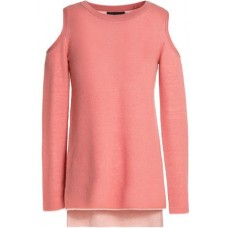 ALICE + OLIVIA Wade cold-shoulder wool and cashmere-blend sweater Antique rose 85% صوف 15% الكاشمير 14693524283011048 0Dyws88n