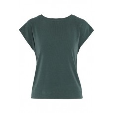 BY MALENE BIRGER Draped cutout crepe shirt Forest green 96% Polyester 4% Elastane 14693524282936729 mq7gaJiJ